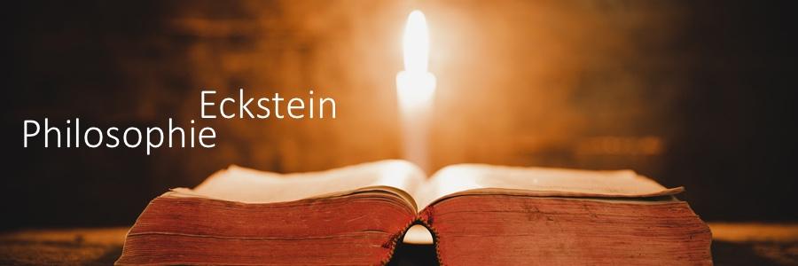 Predigt: Eckstein Philosophie über das Christ-Sein (Teil II)